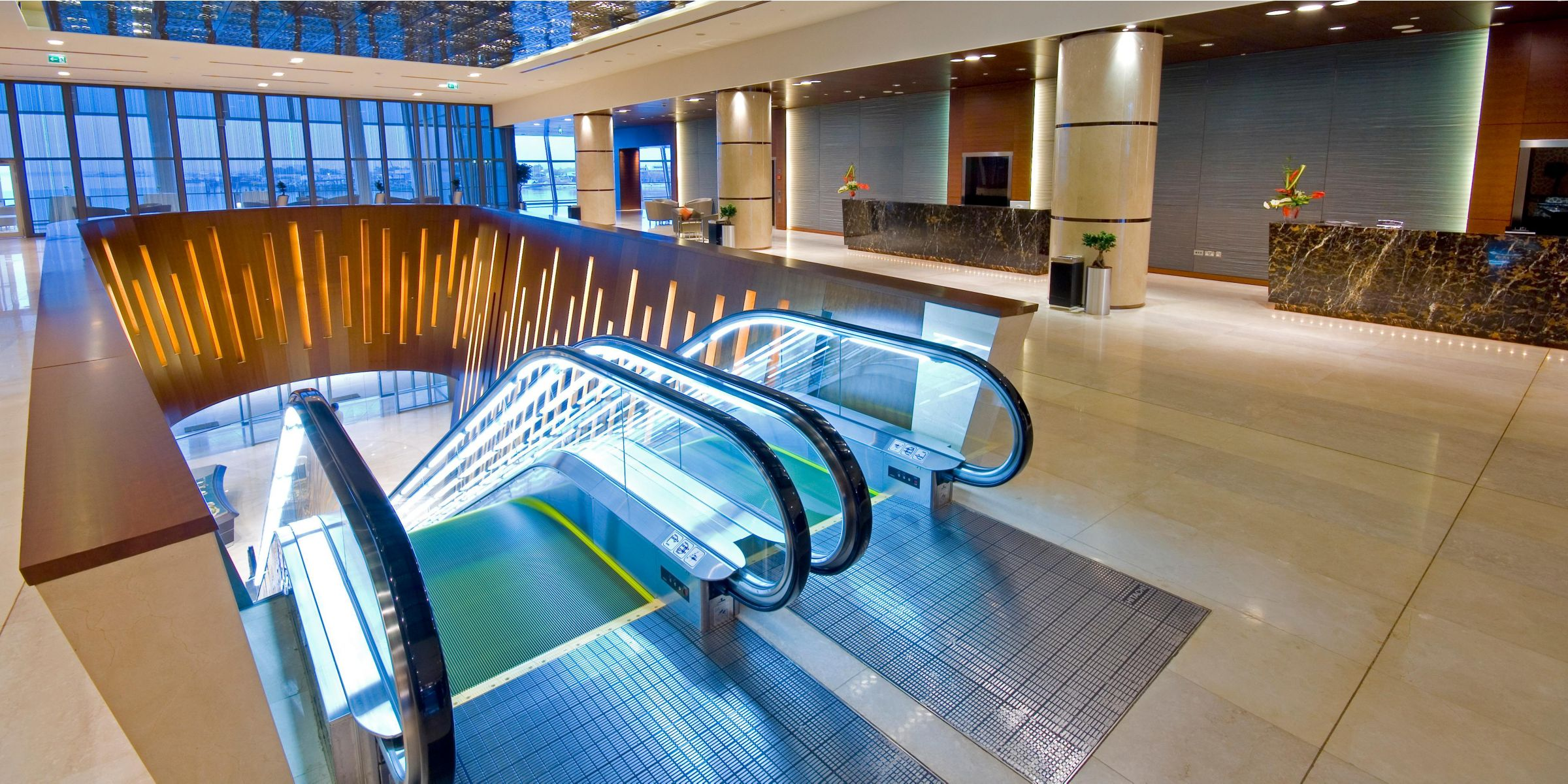 Hotel Lobby Reception Area The Event Centre