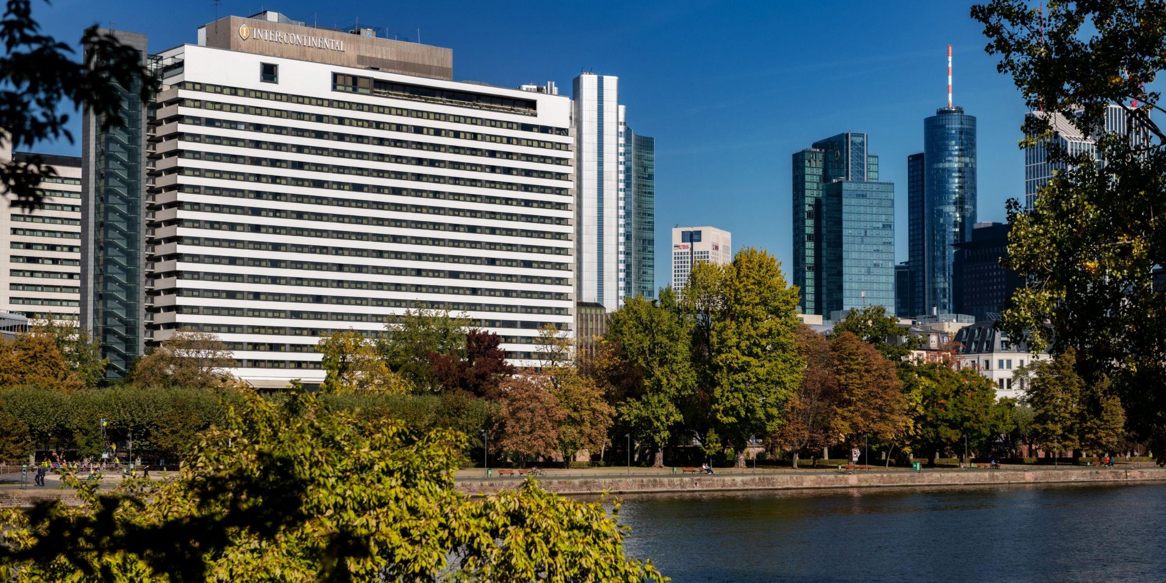 Exterior View Of The Intercontinental Frankfurt