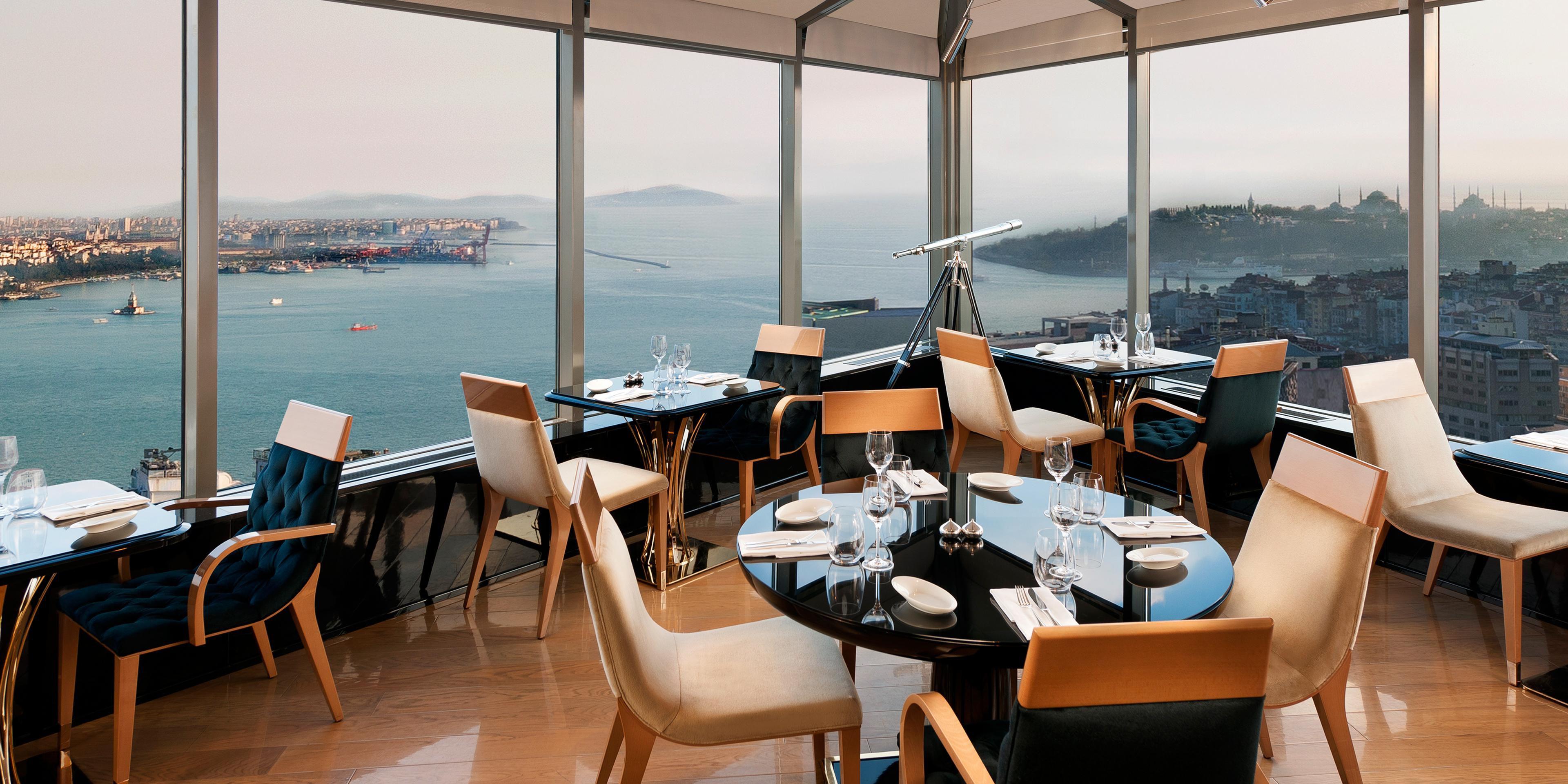 Luxury hotel with pool intercontinental hotel istanbul city lights restaurant bar aloadofball Gallery