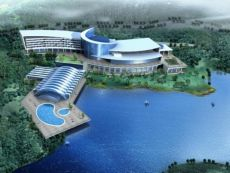 InterContinental Sancha Lake in Meishan, China