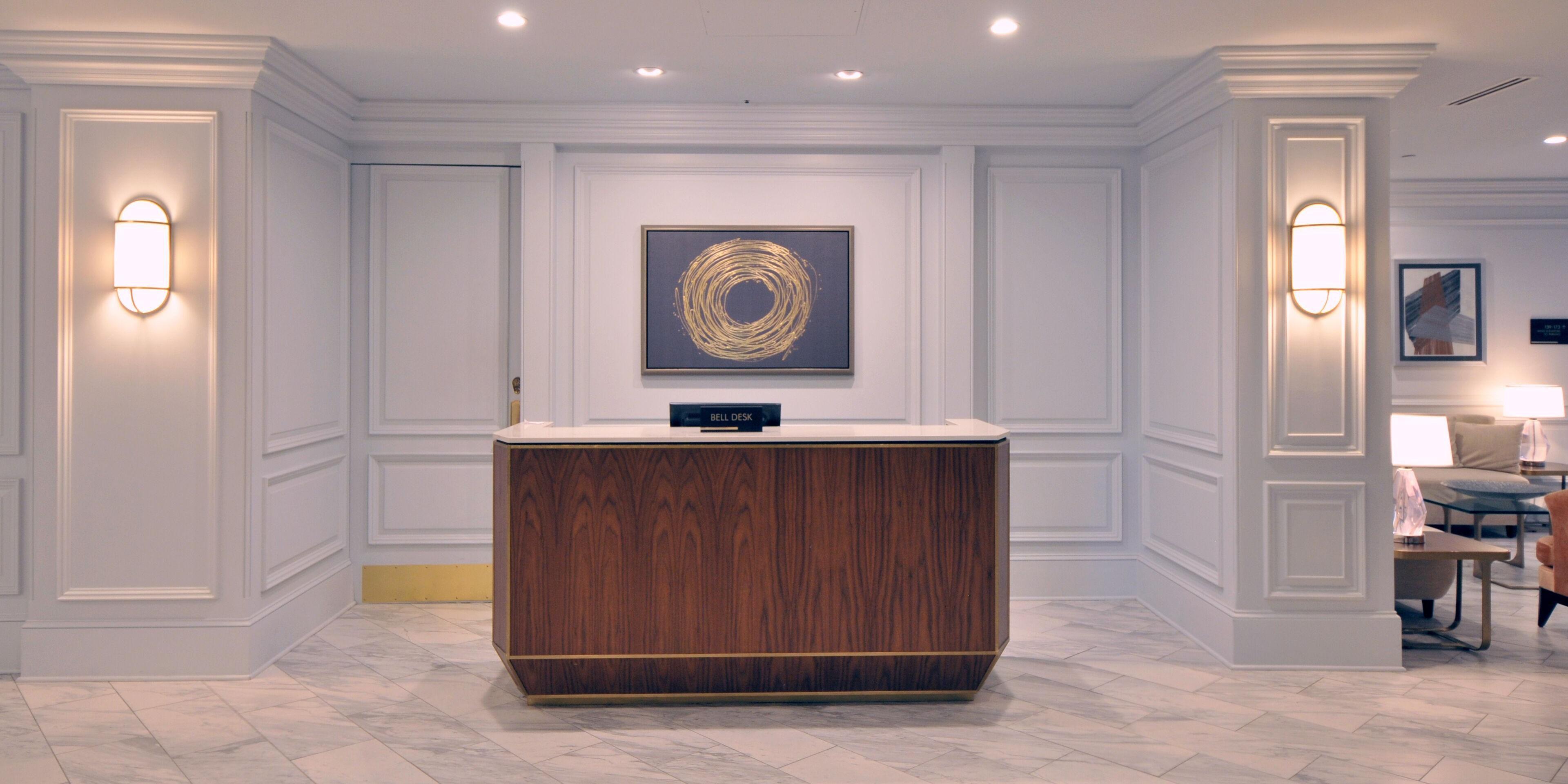 Concierge; Concierge Desk; Bell Stand ...