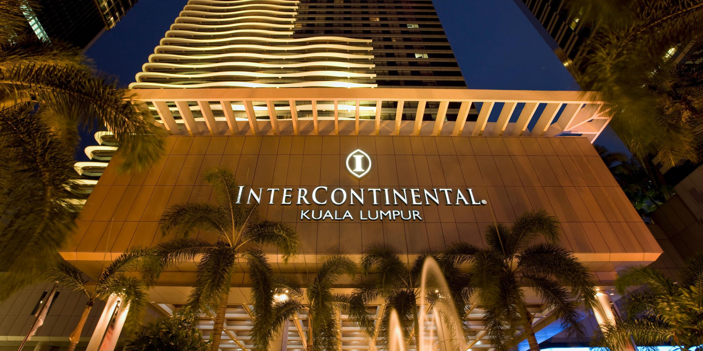 Hotel Exterior Facade Entrance Warm Welcome At InterContinental Kuala Lumpur