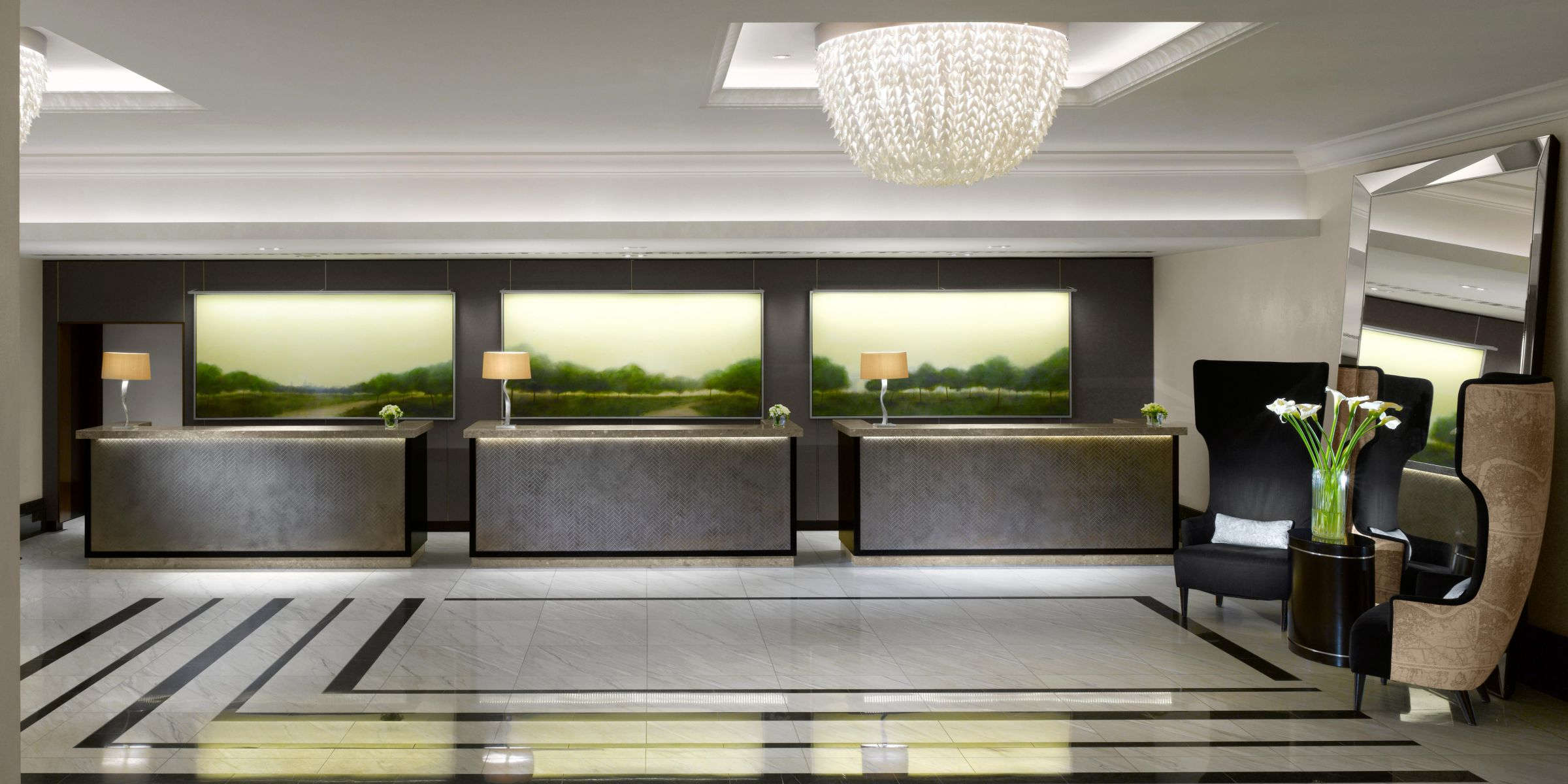 88 5 star hotel reception design lounge area of a hotel for Best modern hotels in london