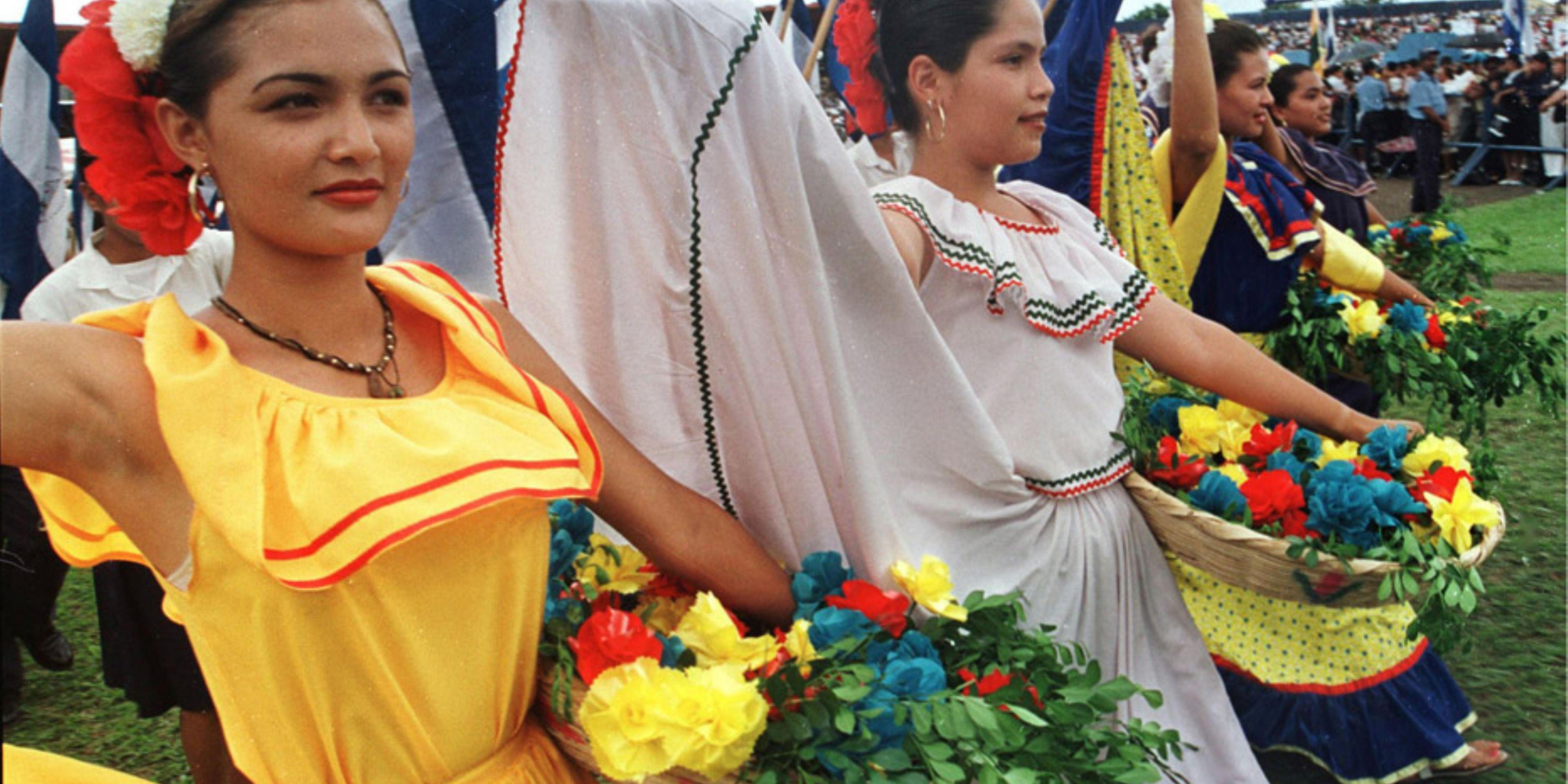 Teen girls in Managua