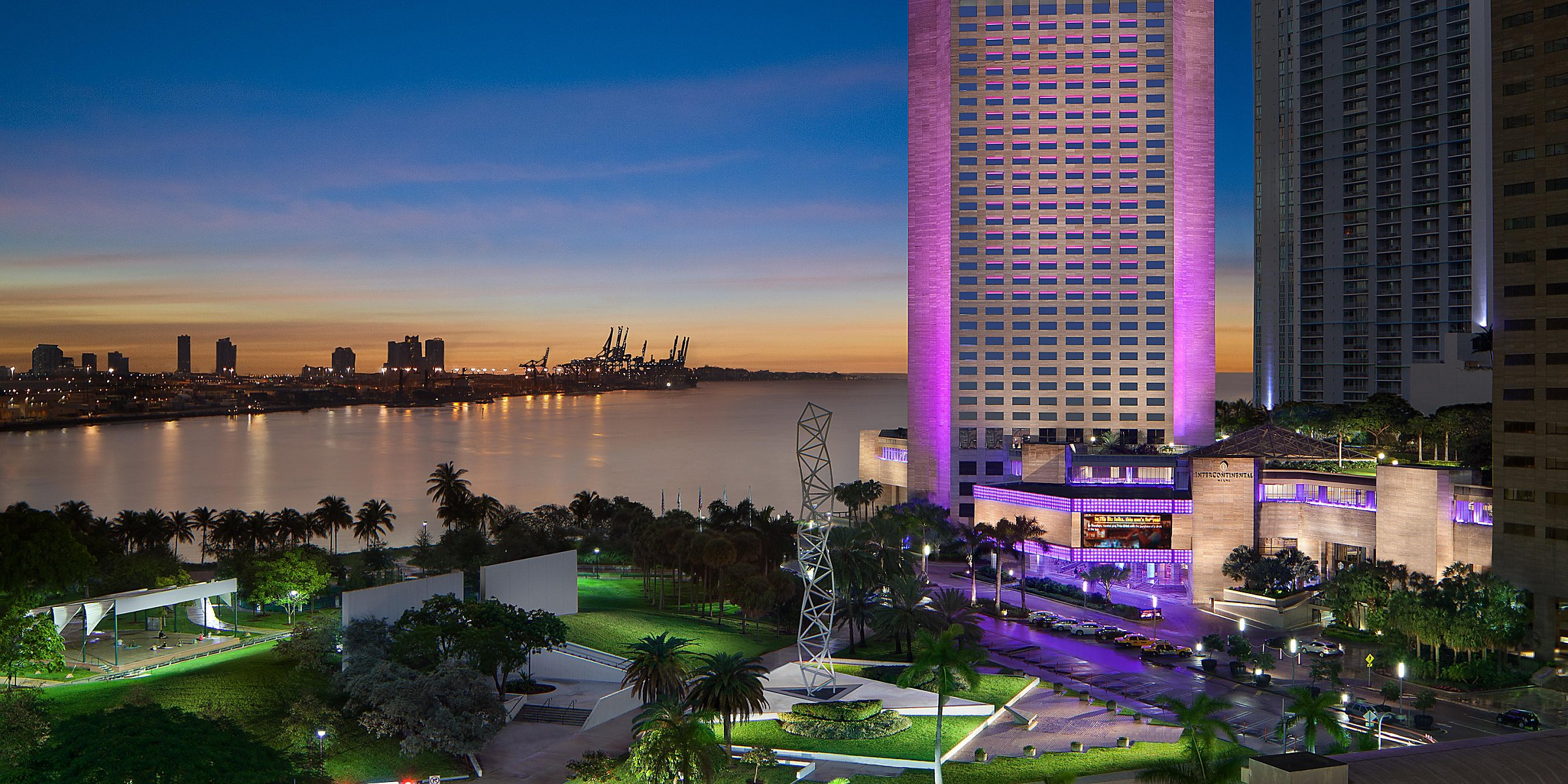 Waterfront Hotels Miami