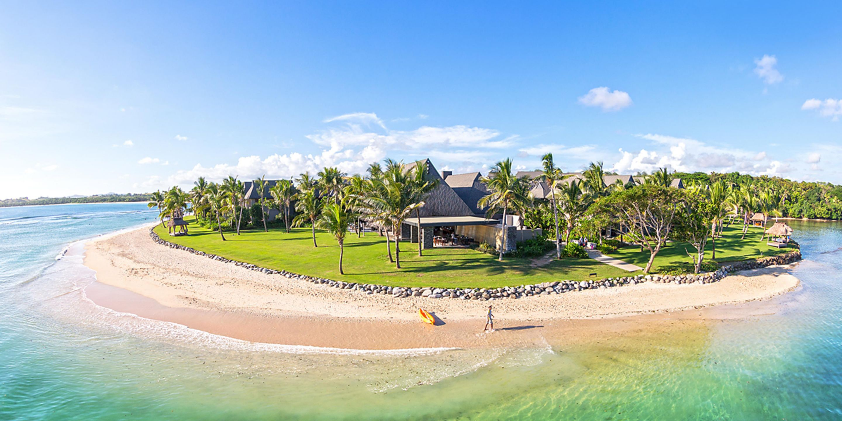 Cardholders can redeem their IHG credit card annual free night at the InterContinental Hotels: Fiji Golf Resort & Spa.