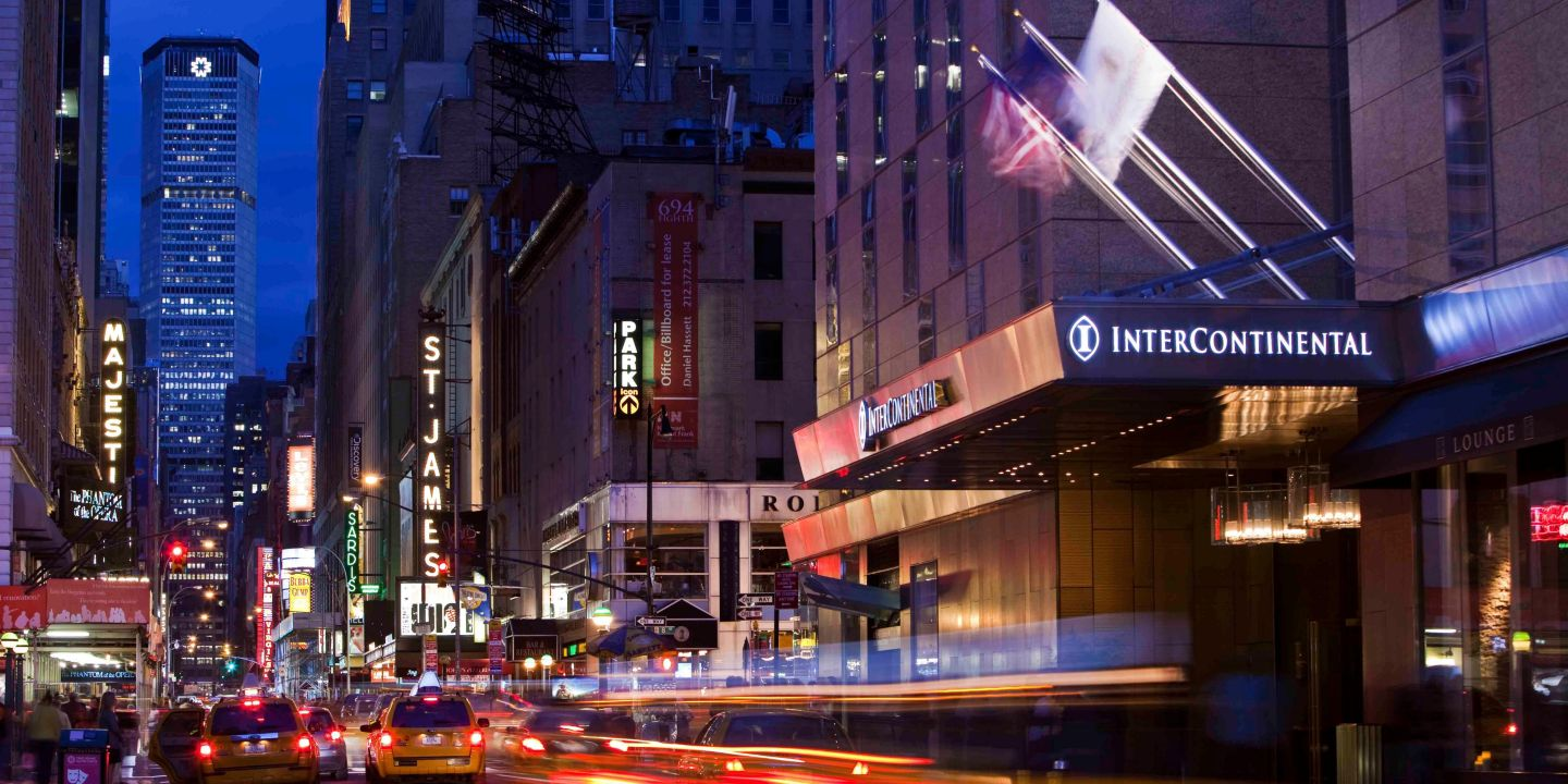 Luxury Hotels In Theater District Intercontinental New