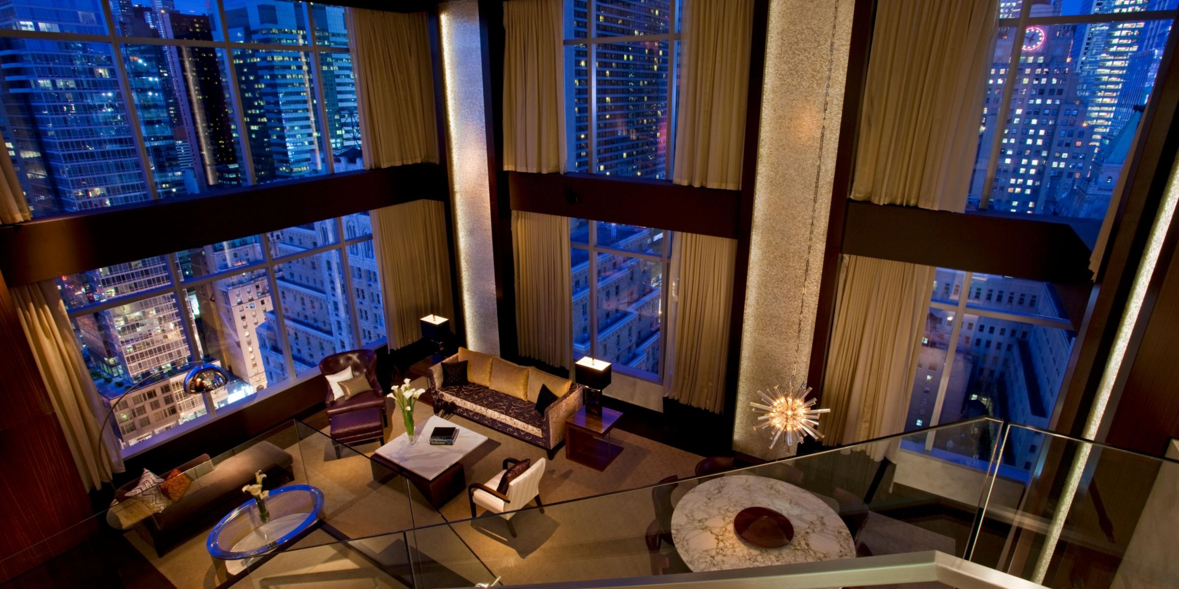 luxury hotels times square intercontinental new york times square
