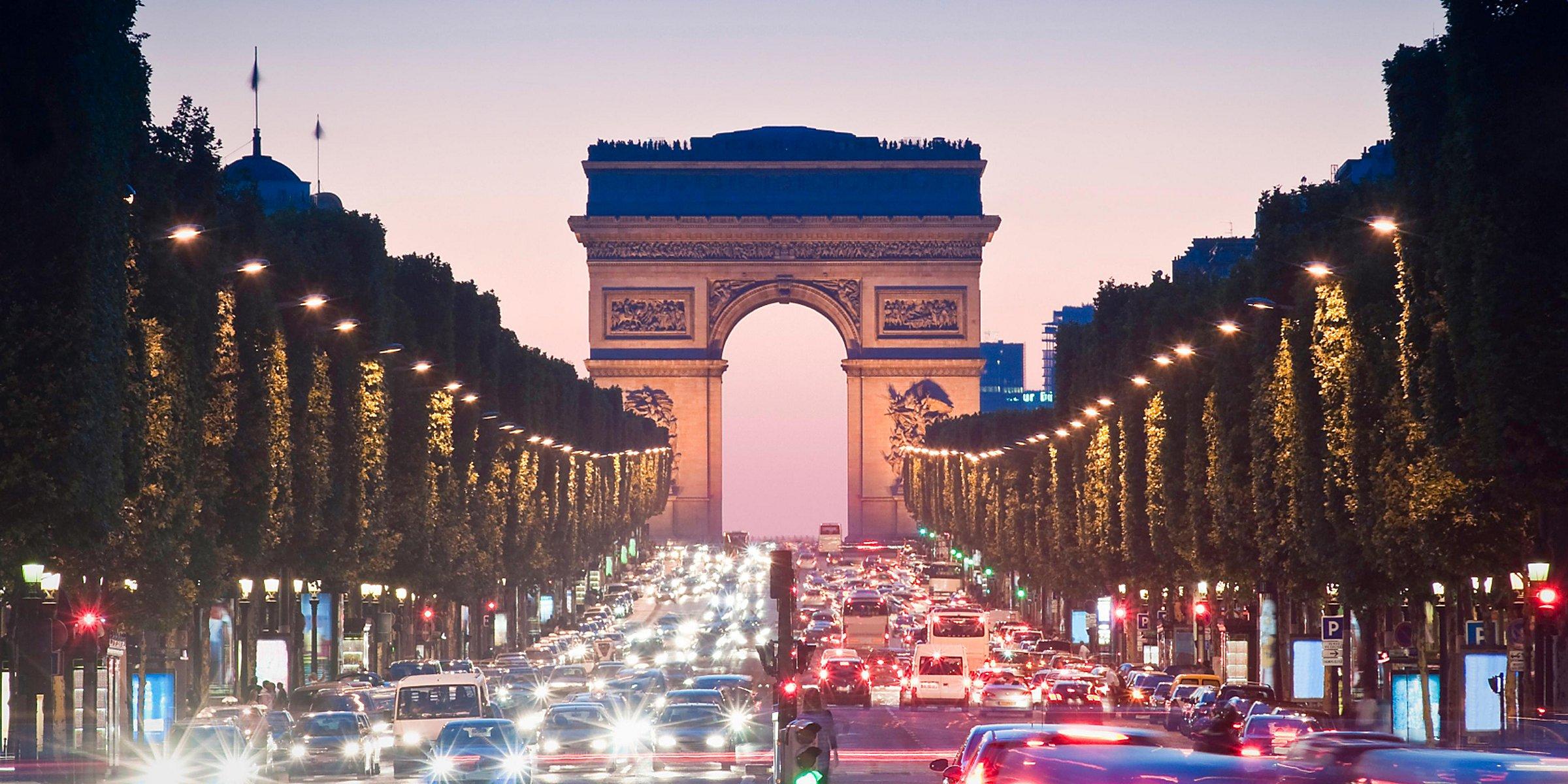Hôtel de luxe 5 étoiles près de l\'Arc de Triomphe ...