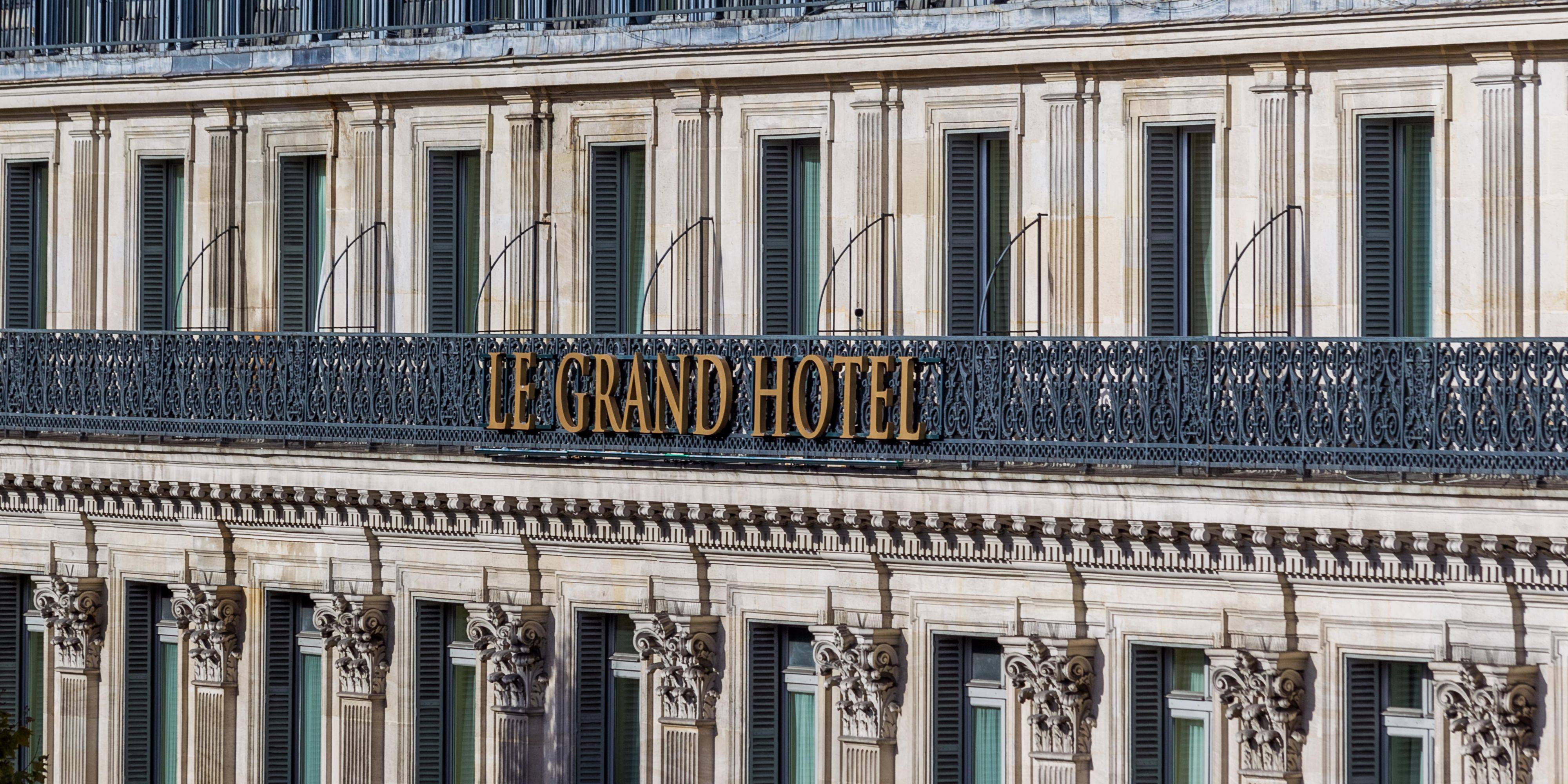 Luxury 5Star Hotel InterContinental Paris Le Grand