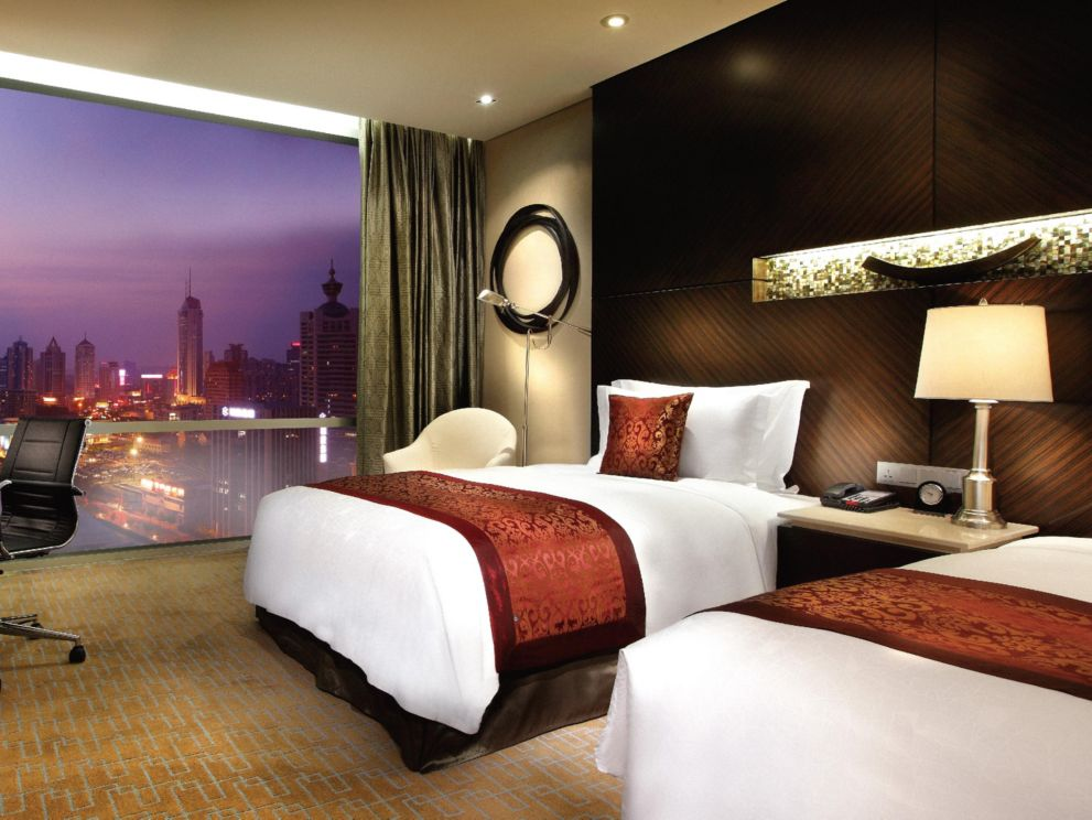Deluxe Twin City View Room