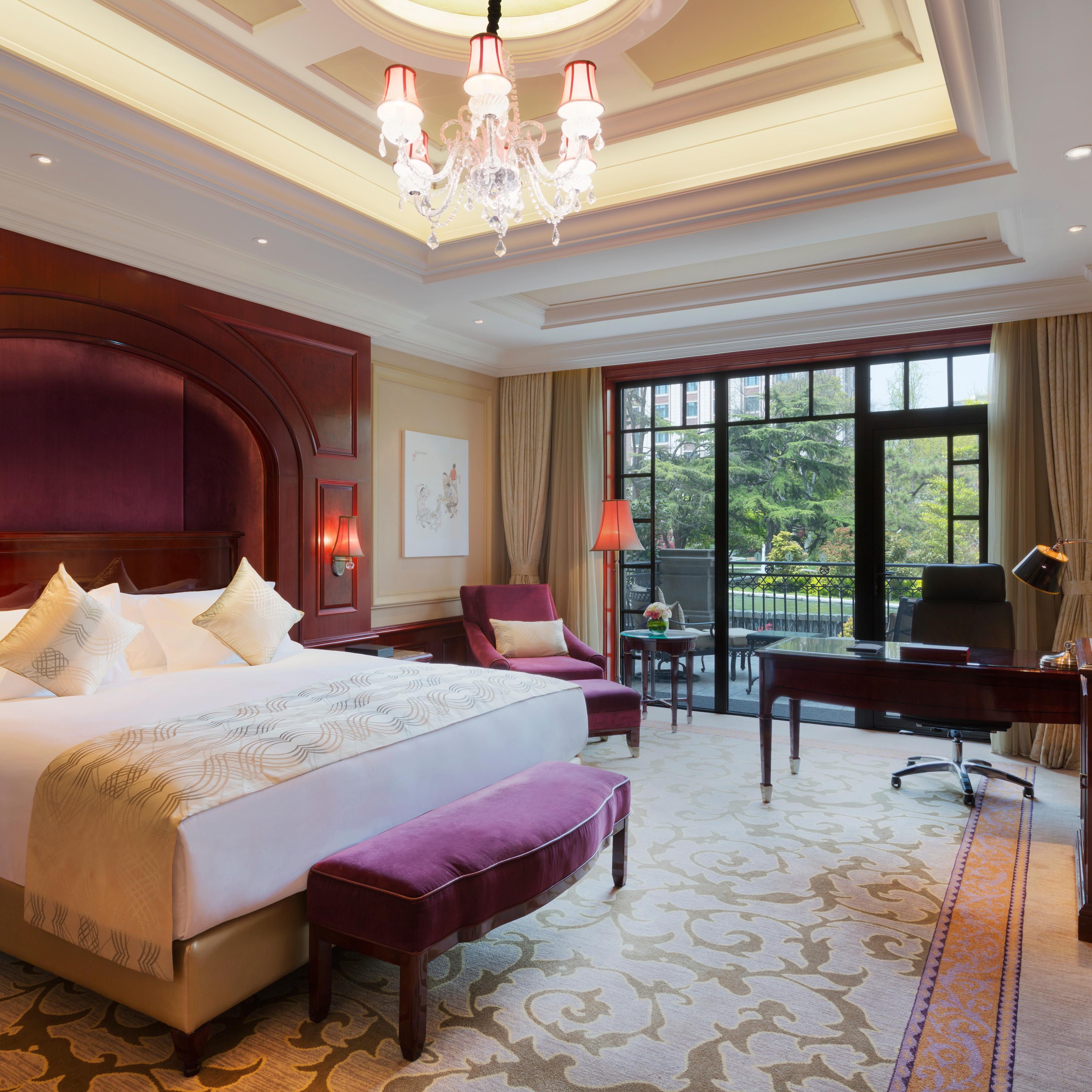 Gästezimmer modern luxus  InterContinental Shanghai Ruijin - Luxushotels in Shanghai, China ...