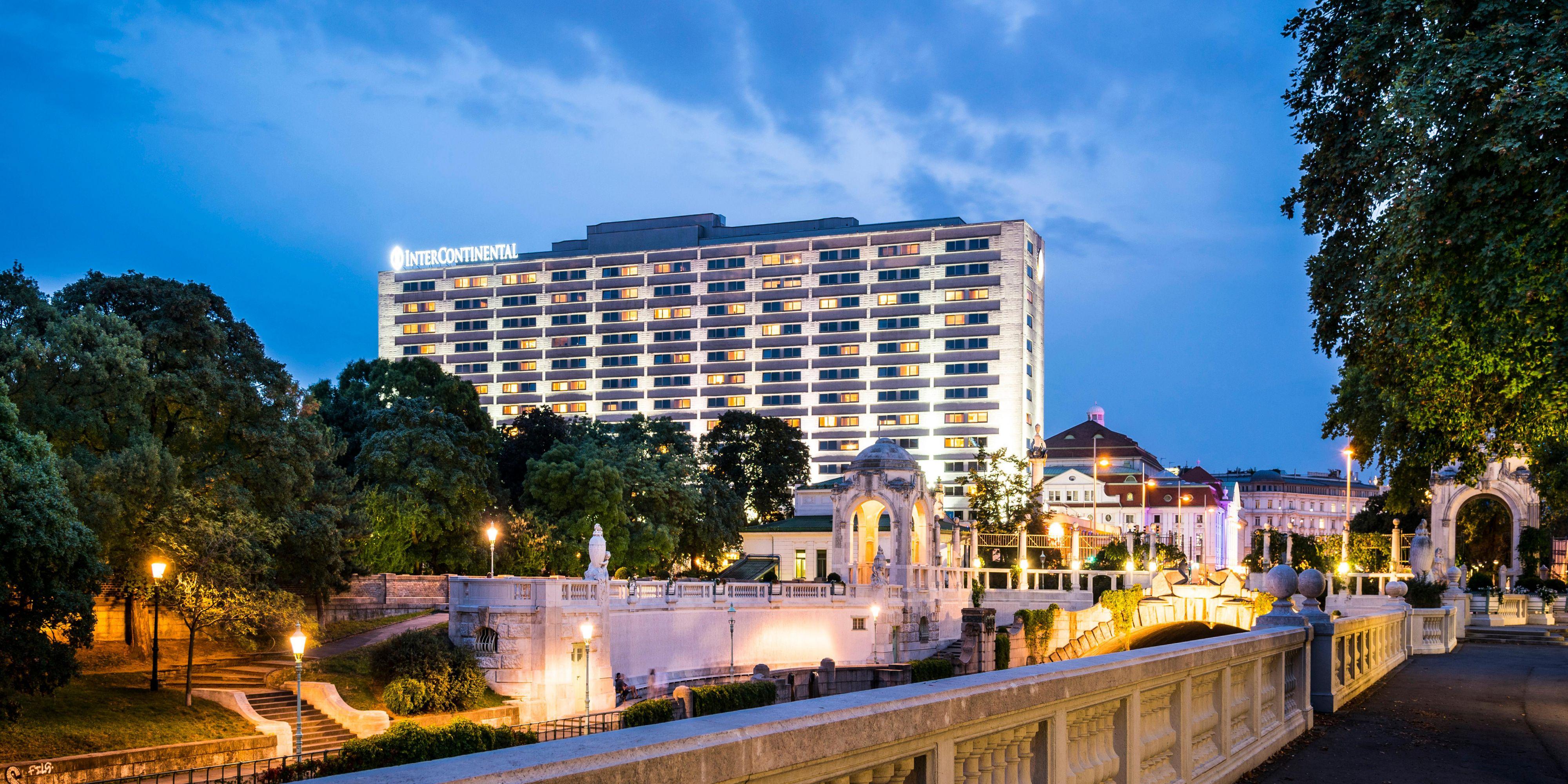 Luxury city centre hotel intercontinental hotel vienna