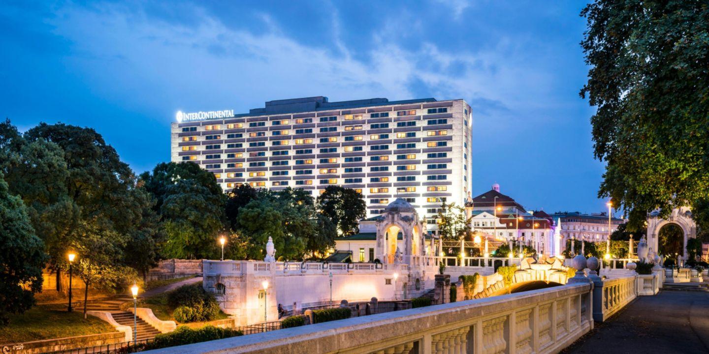 Luxury 5 Star Hotel Intercontinental Hotel Vienna