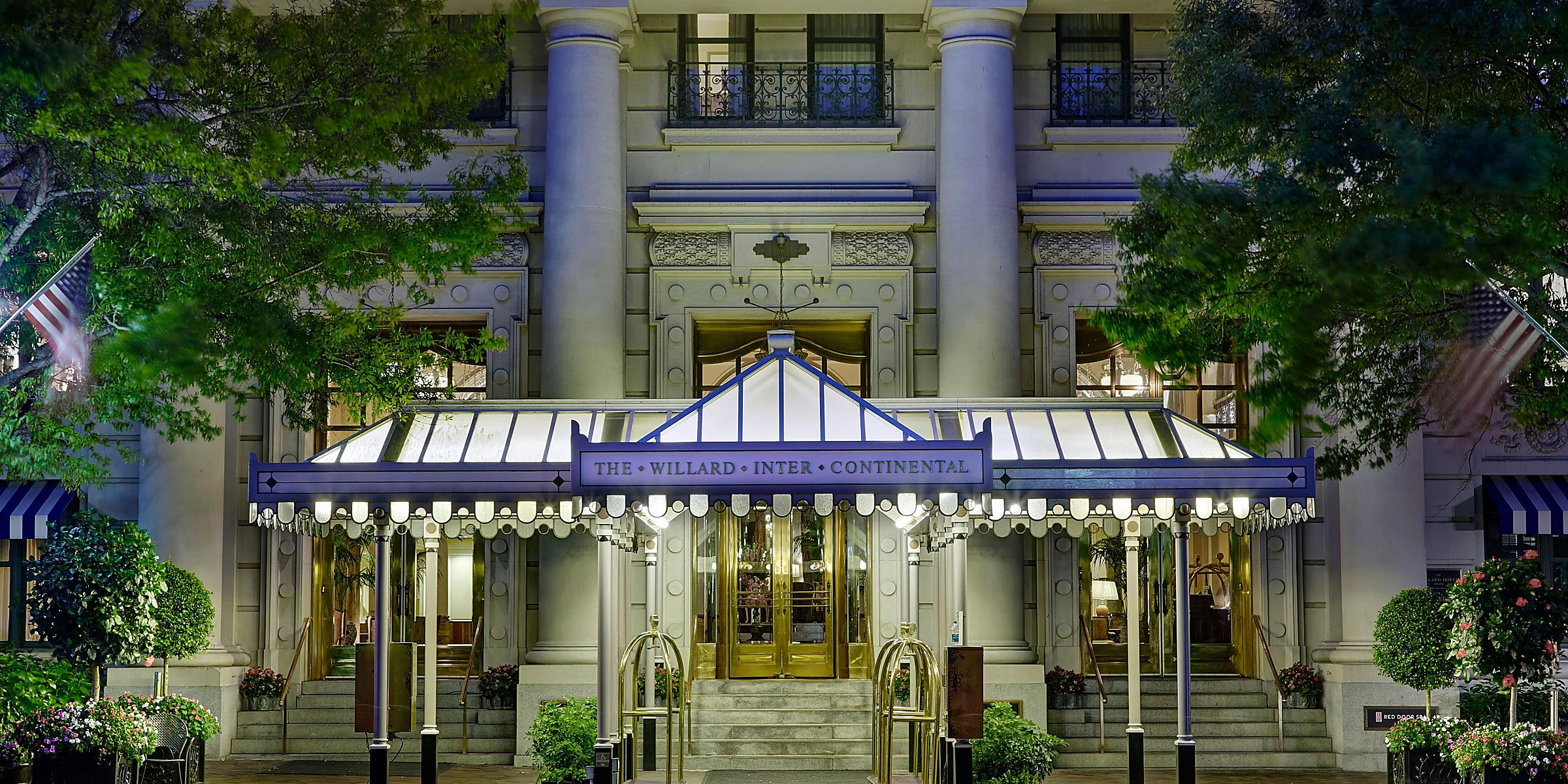 Luxury DC Hotels near the White House   InterContinental The Willard