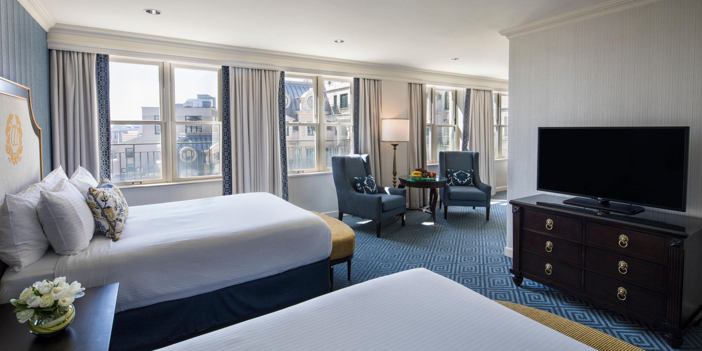 Luxury Hotels In Dc Intercontinental The Willard Hotel Washington