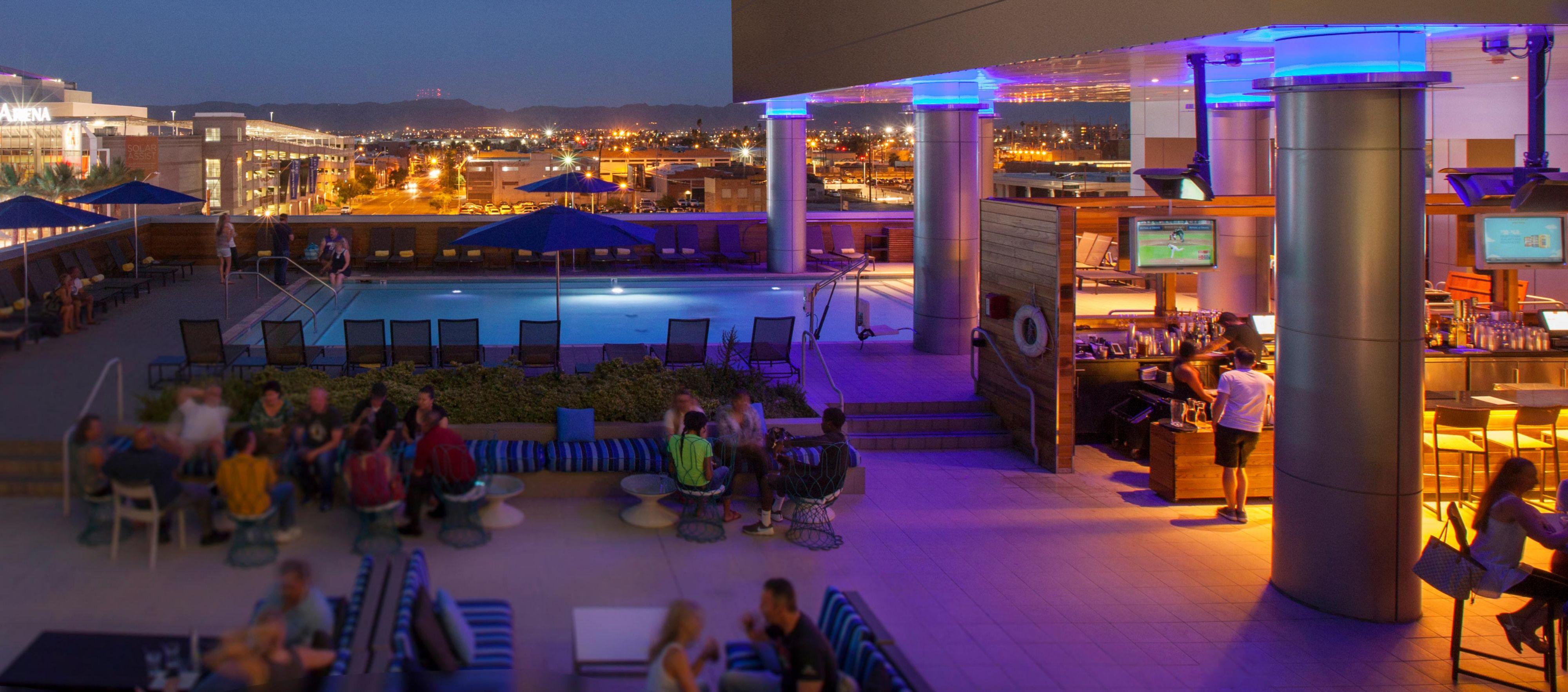Re Rooftop Bar In Downtown Phoenix Kimpton Restaurants