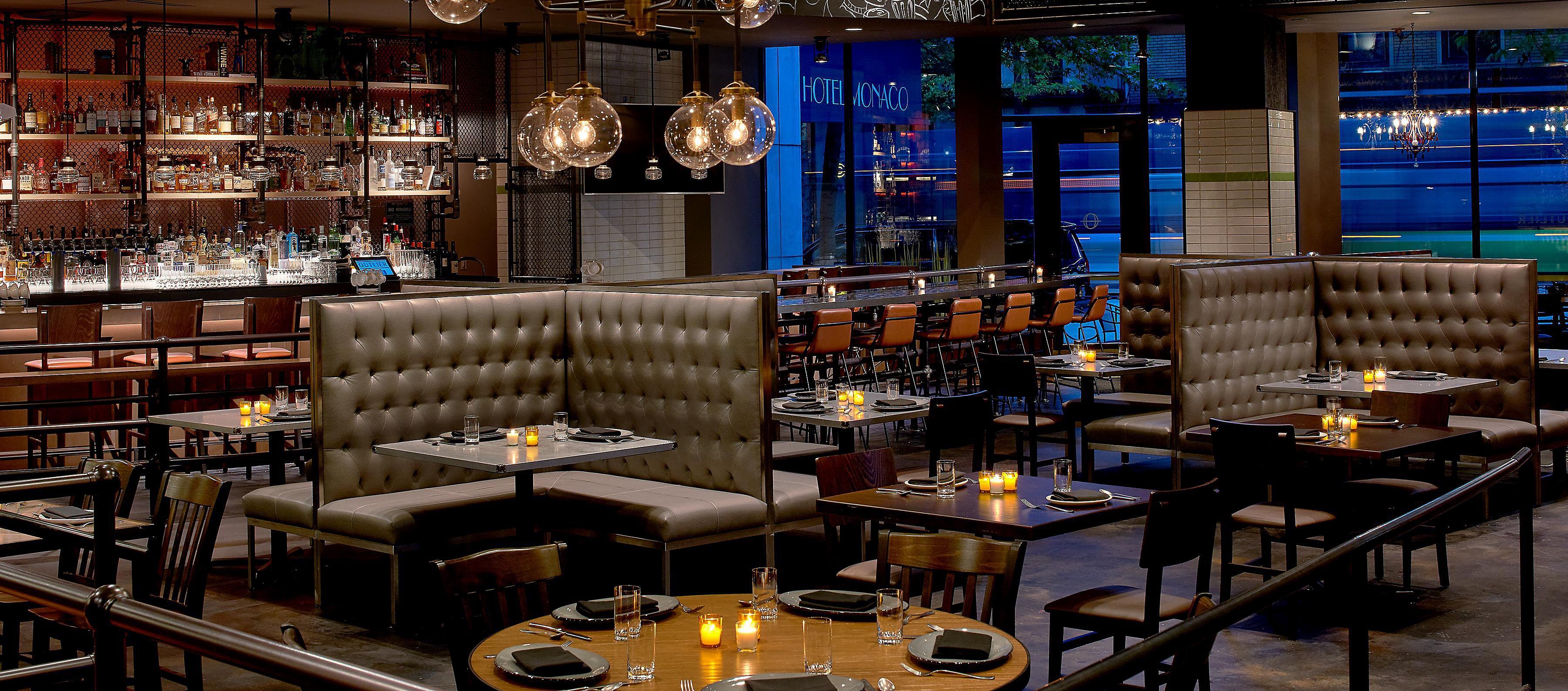 Outlier Restaurants In Downtown Seattle Wa Kimpton Restaurants