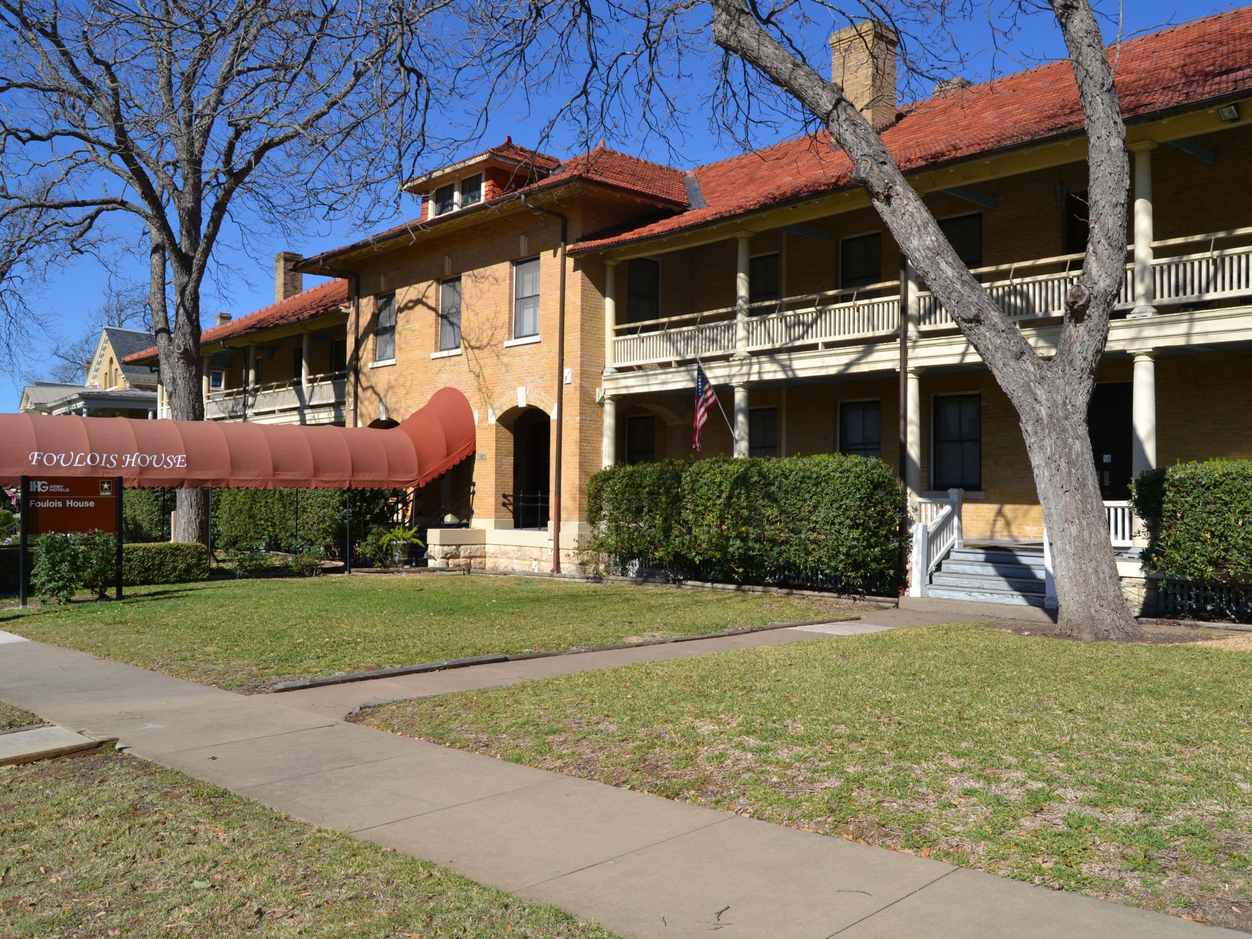 IHG Army Hotels Sam Houston House U0026 Foulois Houses On Joint Base San Antonio