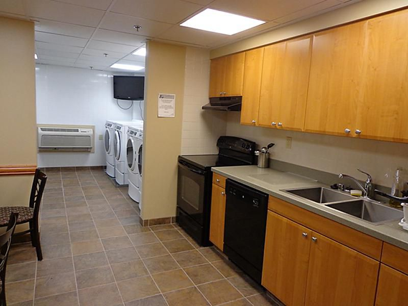 IHG Army Hotel-Ft.Lewis-McChord Kitchen and Guest Laundy Room