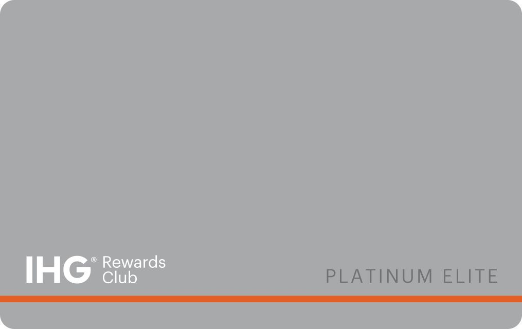Card Platinum Join IHG Rewards Club