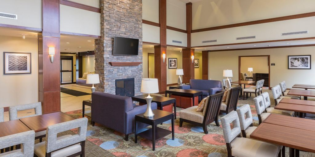 Visit With Family And Friends In Our Inviting Lobby Lounge
