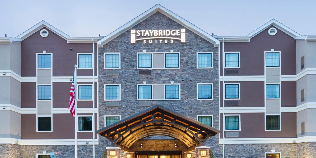The Exterior Of Our Beautiful Staybridge Suites Canton