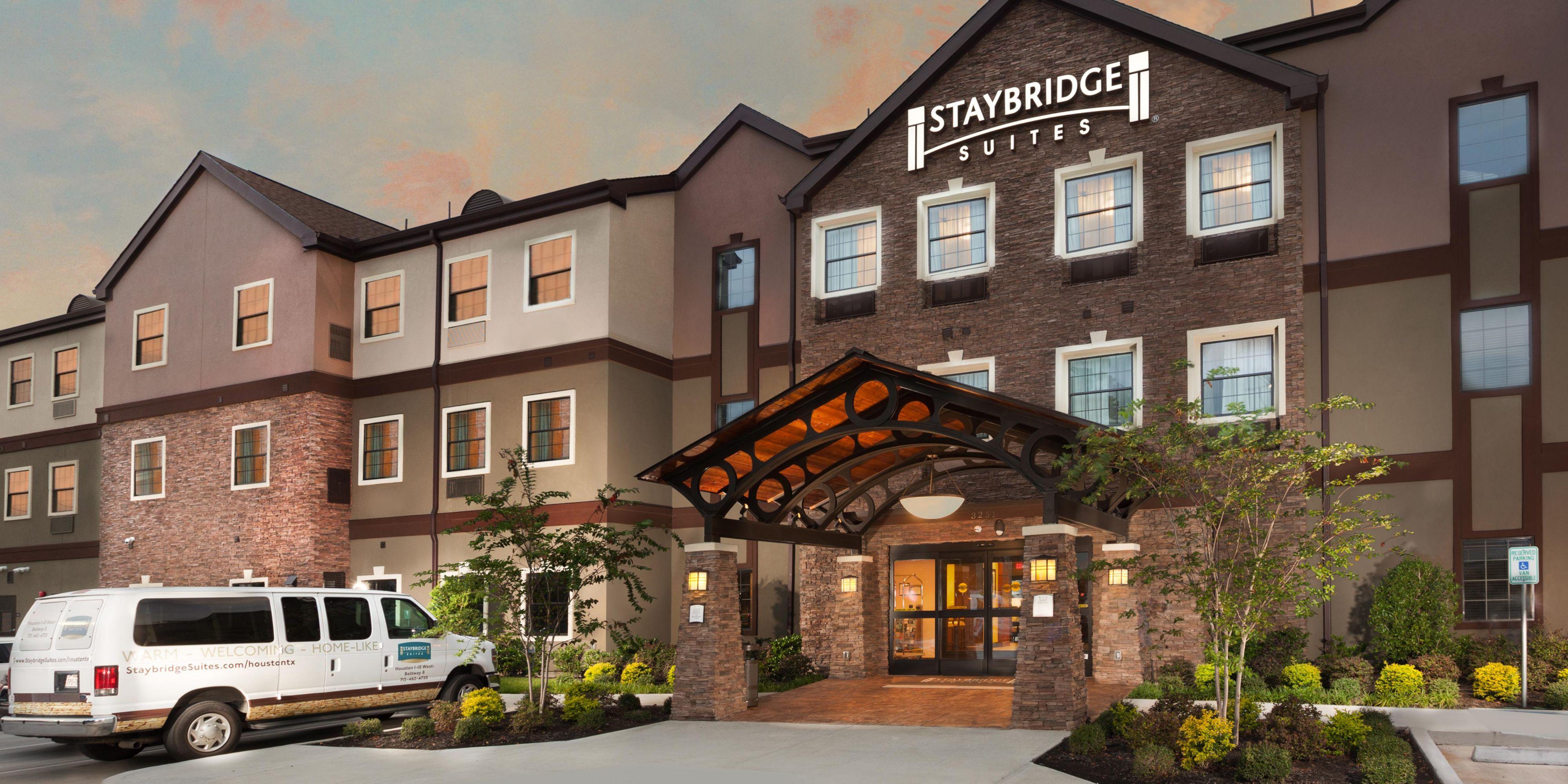 Hotel Exterior Welcome To Staybridge Suites Houston I 10 W Bwy 8