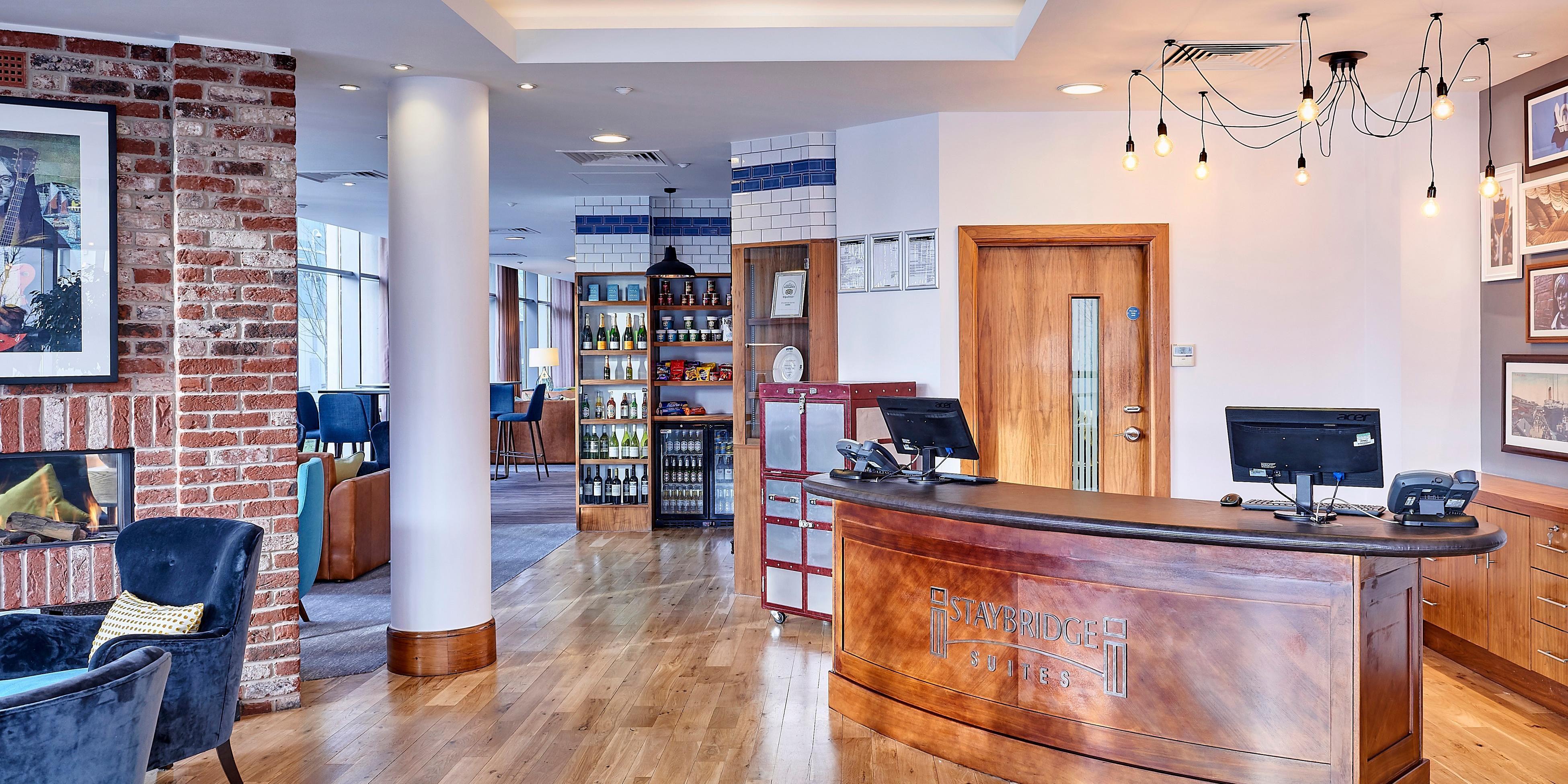 Entrance Front Desk