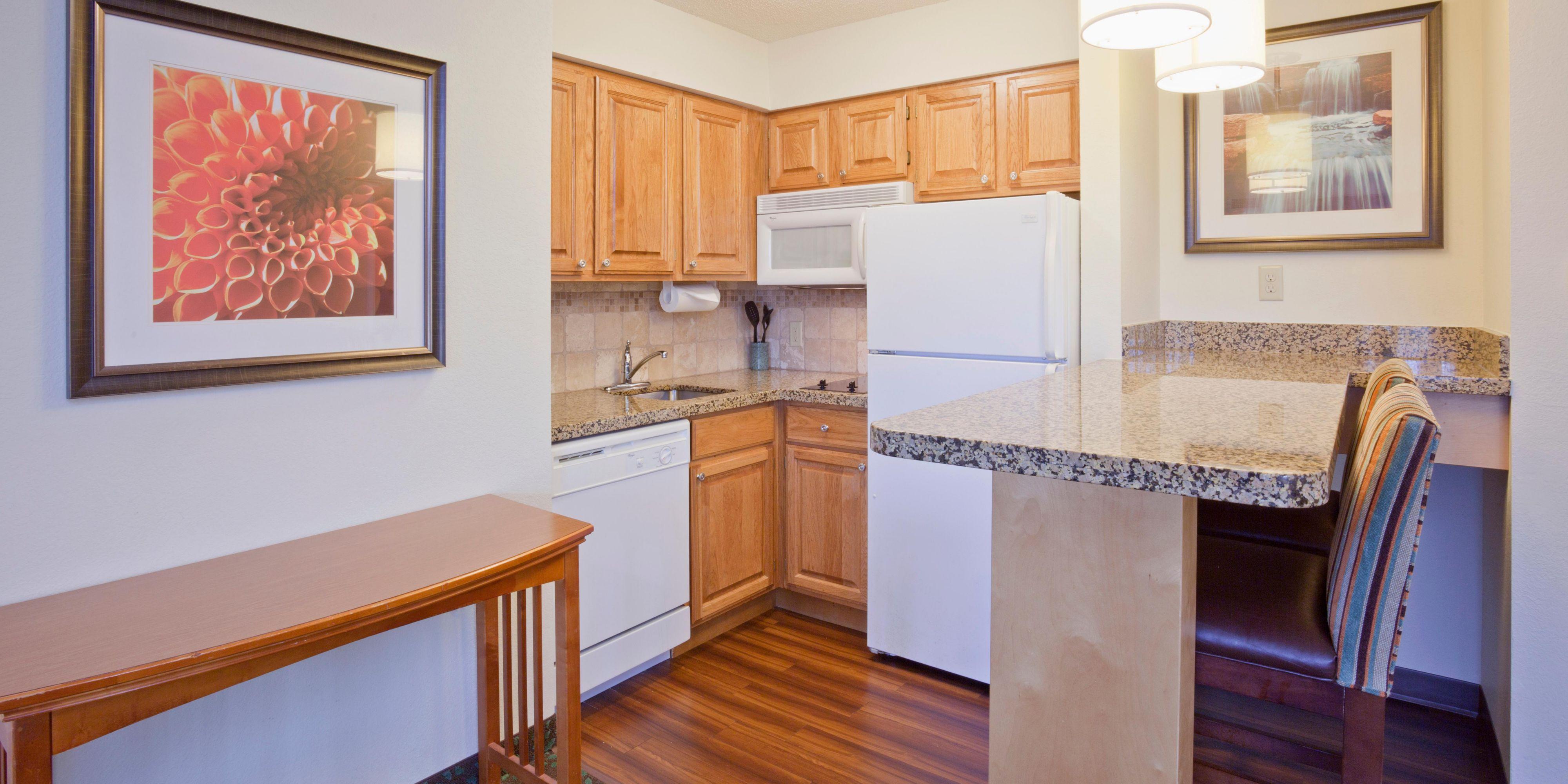 ... Full Kitchens W/ Toaster/microwave/stove/fridge/freezer ...