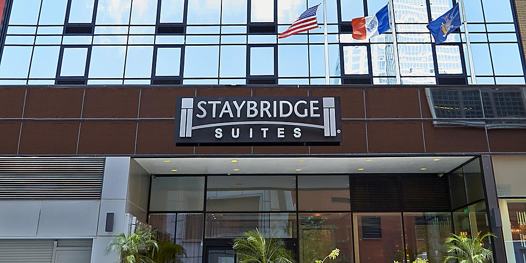 Entrance Hotel Exterior Staybridge Suites Times Square New York City