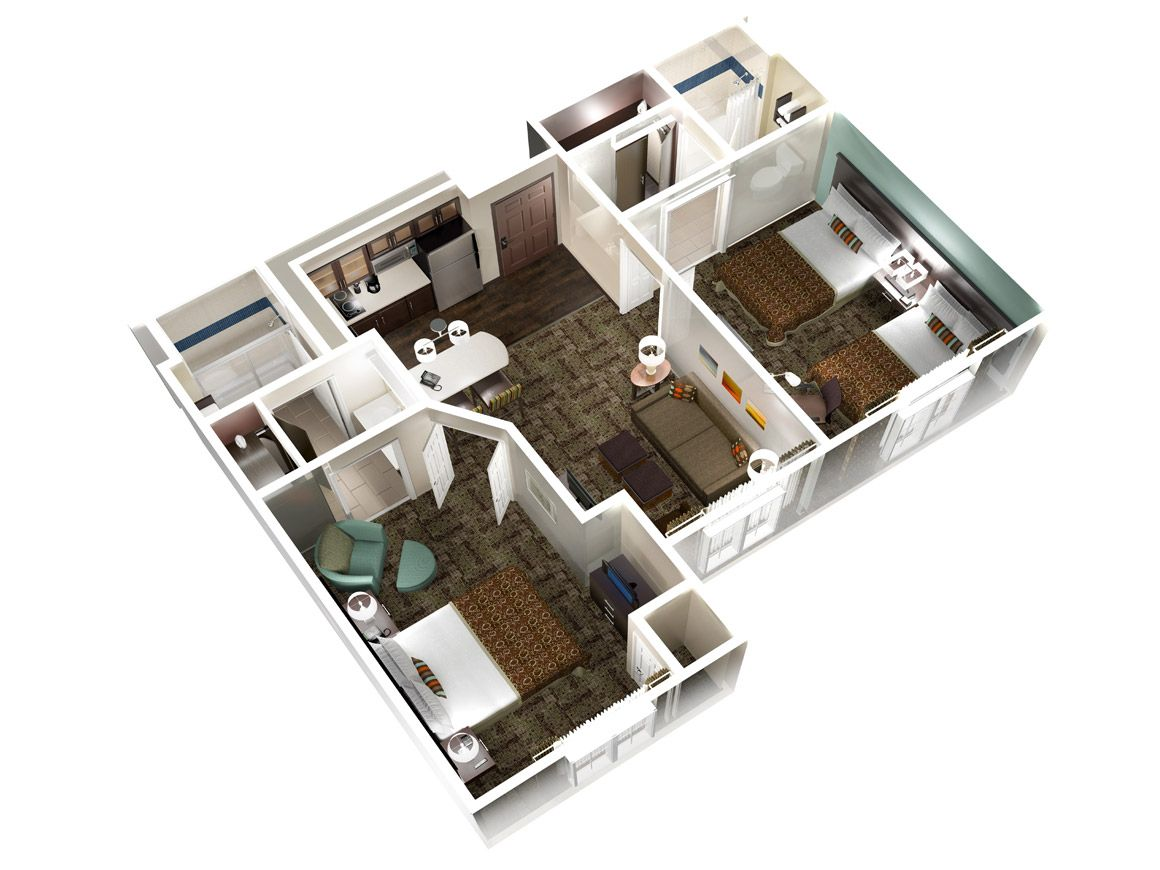 Homewood Suites by Hilton | One Bedroom Suites
